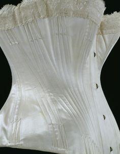 Wedding Corset  1887  The Victoria & Albert Museum