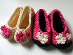Free Crochet Patterns: Free Crochet Slippers, Sandals, Booties, Boots Patterns
