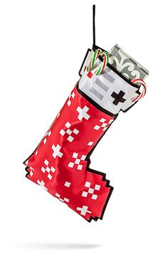 8-Bit Christmas Stocking