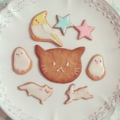 Animal cookies.
