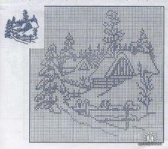 (1) Gallery.ru / Фото #2 - 3 - arine2208 Xmas Cross Stitch, Cross Stitch Charts, Cross Stitch Designs, Cross Stitching, Cross Stitch Embroidery, Cross Stitch Patterns, Crochet Patterns, Filet Crochet Charts, Knitting Charts