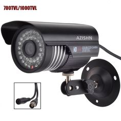 Cheap security cctv camera, Buy Quality cctv camera directly from China ir-cut filter Suppliers: AZISHN NEW CMOS IR-CUT Filter Indoor/Outdoor Waterproof IR Home Video Surveillance Security CCTV Camera Home Video Surveillance, Security Surveillance, Security Alarm, Security Camera, Home Security Tips, Wireless Home Security Systems, Bullet Camera, Ip Camera, Camera Sale