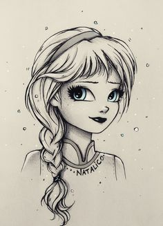 Little Elsa by natalico.deviantart.com on @DeviantArt