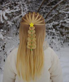 🎄 Christmas tree 🎄 . . . . . #braid #braids #braided #braiding #braidideas #braidsforgirls #flette #peinado #tresse #trenza #pelo #hair #hairdo #hairstyle #hairideas #hairinspo #hairofinstagram #hairoftheday #hår #christmashair #Christmas #frisyre #styling #star #dutchbraid #godmorgennorge
