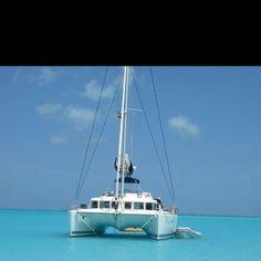 Festiva Sailing Vacations anchored at Treasure Cay