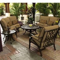 669 best patio furniture images outdoor life outdoor living outdoors rh pinterest com patio dining tables on sale Bistro Table