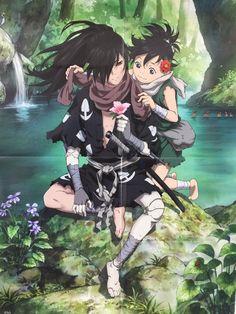 Dororo and Hyakkimaru Anime Shojo, Manga Anime, Art Manga, Kawaii Anime, Fan Art Anime, Accel World, Girls Anime, Anime Kunst, Animes Wallpapers