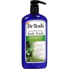 Dr. Teal's Ultra Moisturizing Relax & Relief Body Wash, 24 oz