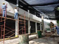 Construyen más aulas en el Colegio Roberto Vicentín