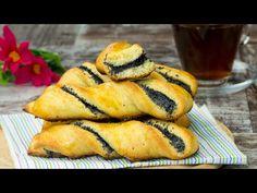 Chifle pufoase din brânză - perfecte pentru un mic dejun sănătos! | SavurosTV - YouTube Hot Dog Buns, Hot Dogs, Deserts, Muffin, Bread, Breakfast, Ethnic Recipes, Tv, Parfait