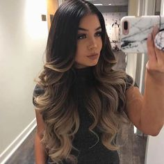 63 Ideas For Hair Color Ideas For Brunettes Balayage Fall – Hair – Hair is craft Hair Color Ideas For Brunettes Balayage, Hair Color Balayage, Hair Highlights, Fall Balayage, Bayalage, Caramel Highlights, Cabelo Ombre Hair, Ombre Hair Extensions, Hair Colors