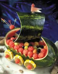 pirate ship fruit