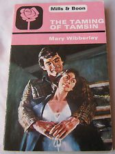 Mary Wibberley THE TAMING OF TAMSIN 1978 Mills & Boon 1425 Vintage Romance
