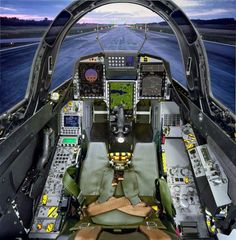 JAS 39 Gripen cockpit 📷 by Fighter Aircraft, Fighter Jets, Fighter Pilot, Saab Jas 39 Gripen, Helicopter Cockpit, Swedish Air Force, South African Air Force, F22 Raptor, Flight Deck