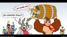 Do A Barrel Roll!!! by Atariboy2600.deviantart.com on @deviantART