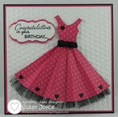 Cat's Ink.Corporated: Dynamic Duos #7 - Party Dress 6/16/12 Love the colors & the black tulle & tiny hearts!