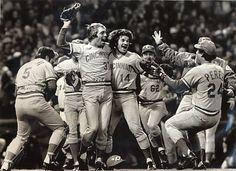 Celebration of the 1975 World Series
