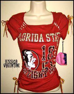 FSU Seminoles Ripped Shirt