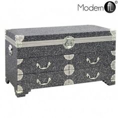 Midnight Sparkle trunk with drawers