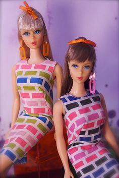 Mod Era Barbie - Twist n Turn Barbies