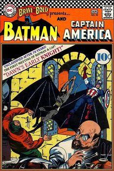 Super-Team Family: The Lost Issues!: Batman and Captain America (Retro)