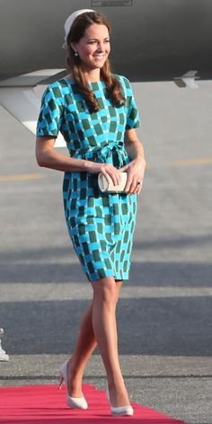 Kate Middleton's Most Memorable Outfits - September 17, 2012 - from InStyle.com