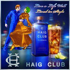 Club style whiskey Haig Club Clubman