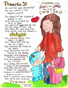 Doodle Through The Bible: Proverbs 31 Illustrated Faith Journal entry for Good Morning Girls (GMG) Bible Study, Free printable PDF Coloring page link at the website.