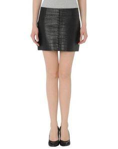 alexander wang lederrock damen #designer #leather #alexanderwang #covetme Alexander Wang, What To Wear, Leather Skirt, Valentines, Skirts, Hair, Closet, Stuff To Buy, Design