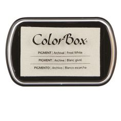 <div>This classic pigment ink pad contains rich pigment ink with a slow dry time that's suitable...