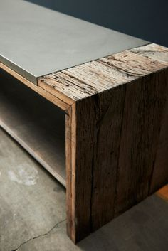 Bench de Concrete Home Design | Bancos