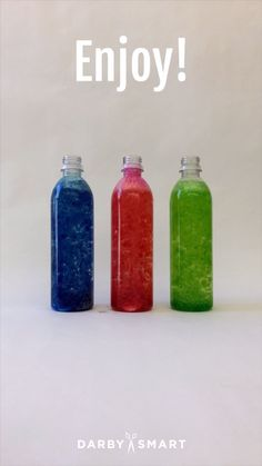 Make A Water Bottle Lava Lamp #school_crafts_for_kids