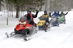 Snowmobiling in the Ottawa Valley