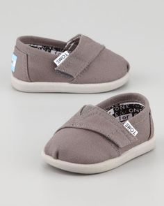 I'm not into Toms for me, but baby toms are adorable!