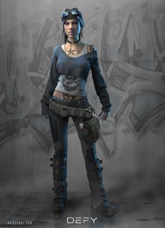 "Law Enforcement character class concept I made for the cyberpunk RPG, ""Interface Zero"". Character Concept, Character Art, Concept Art, Rogue Character, Fantasy Inspiration, Character Design Inspiration, Song Inspiration, Frankenstein, Science Fiction"