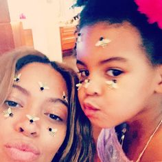 Blue Ivy Carter's Cutest Instagram Photos - Queen Bey and Her Mini Me  - from InStyle.com