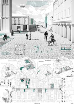 """""""Post-Quake Visions"""" Young Architects Competition Results Announced,First Place / Caterina Spadoni, Valentina Brunetti. Image Courtesy of YAC"""
