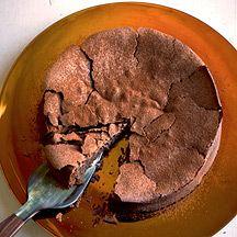 Fallen Chocolate Cake opts