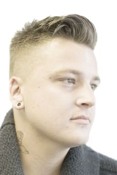 SP Men Competition entry from UK, Salon KH Barber. Look: Modern Sophistication.  My hair now.