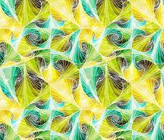 Fiaba Tropical Tree fabric by fiaba_fabrics on Spoonflower - custom fabric