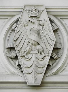 Eagle of Sigismund I at the Sigismund's Chapel by Bartolomeo Berrecci, between 1519 and 1533