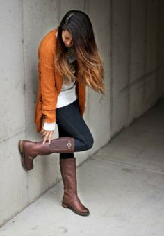 Stunningly Adorable Fall Outfit, Gorgeous Look