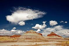 The Painted Desert of northeastern Arizona
