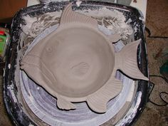 new project for next yr animal bowls - 2nd s