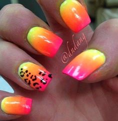 new Colorful Nails for Summer 2014