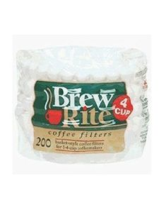 Coffee Maker Cupcake Style 4Cup Filter 200 Count 47201 * See this great product by click affiliate link Amazon.com