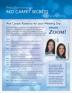 Here are step-by-step instructions for all of you brides-to-be!