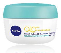 Nivea Visage Q10 Plus Antiarrugas Crema Facial de Día Humectante para Piel Mixta a Grasa < Recomendable. Hidratante. Se absorbe rápido y no es graso. Buen FPS. Pote de vidrio. <3 :: Nivea Visage Q10 Plus Anti-wrinkle Pore Refining Day Cream for oily to combo skin < I recommend it. Moisturising. It absorbs fast into the skin. Non-greasy. Good SPF. Glass jar. <3