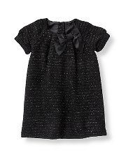 Janie and Jack Sparkle Boucle Dress
