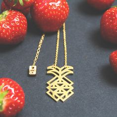 Amazing Pineapple pendant. Gorgeous and stunning jewelry! Designed by Rea Christ. Get yours at http://zazzy.co/pendant/pineapple/